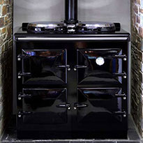 The Heritage Standard cooker in Black
