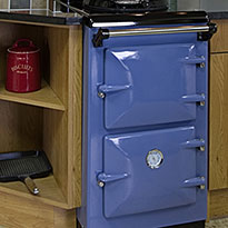 The Heritage Uno in Blue - perfect for the smaller kitchen