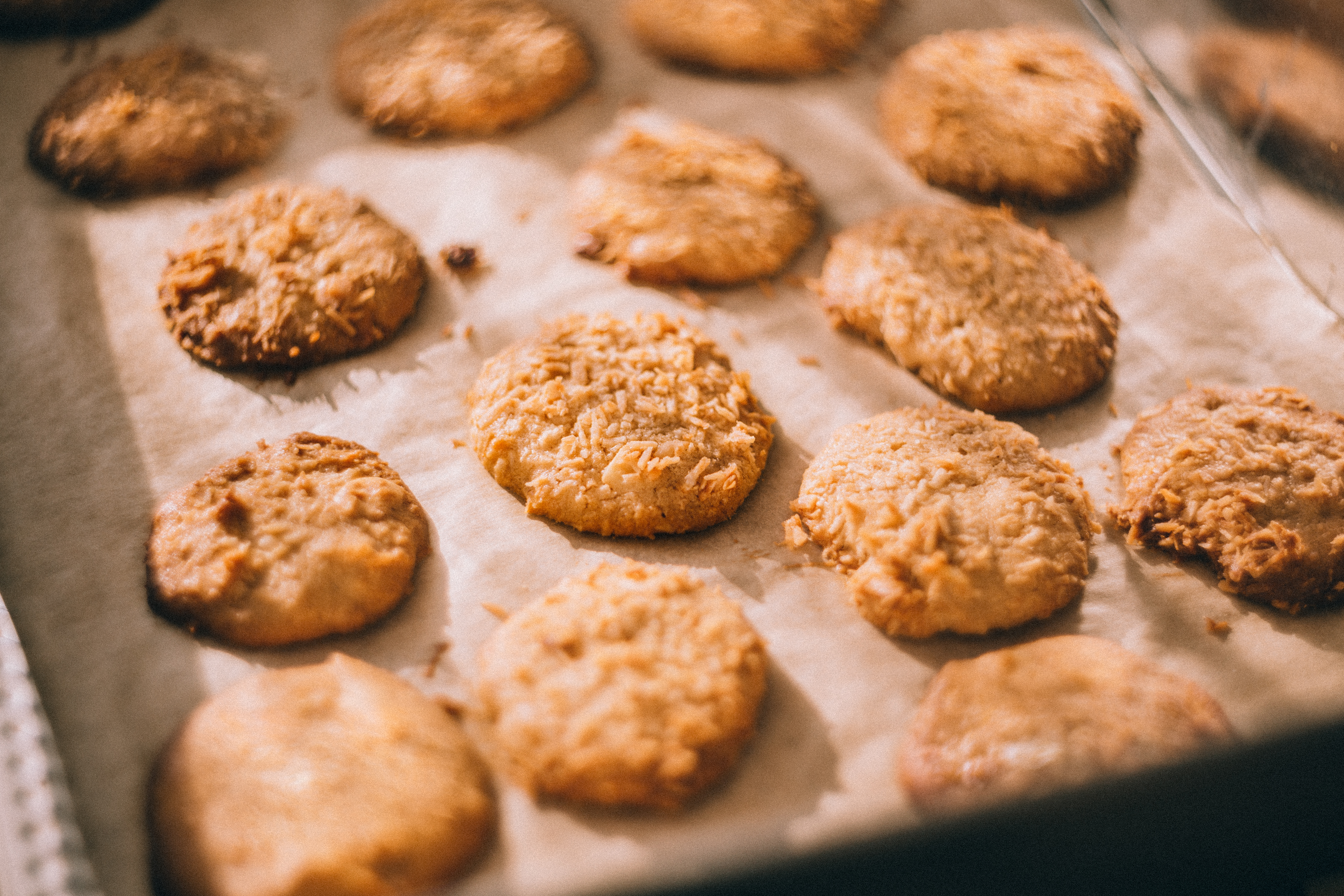 Cookies taste great baked in a Heritage Range Cooker